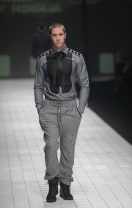 man catwalk